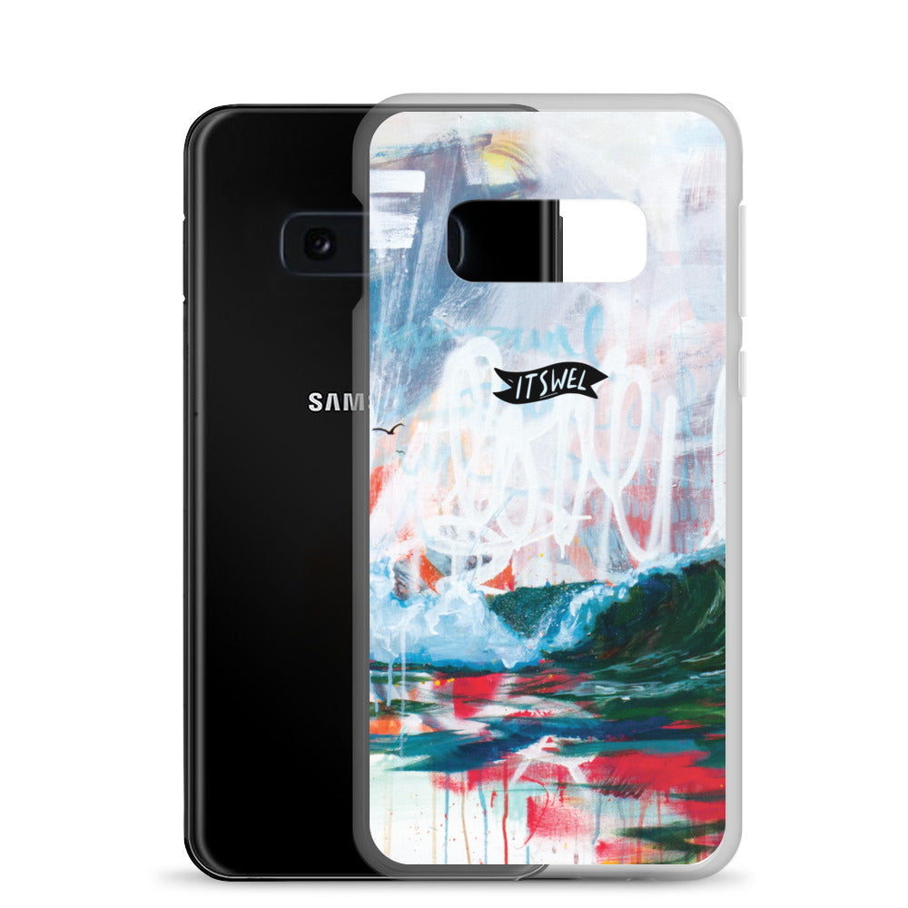Green Wave - Samsung Case