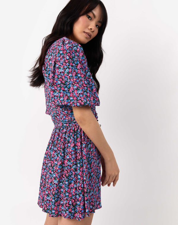 Sasha Multi Floral Dress