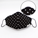 The Polka Dot Mask with Nose Wire