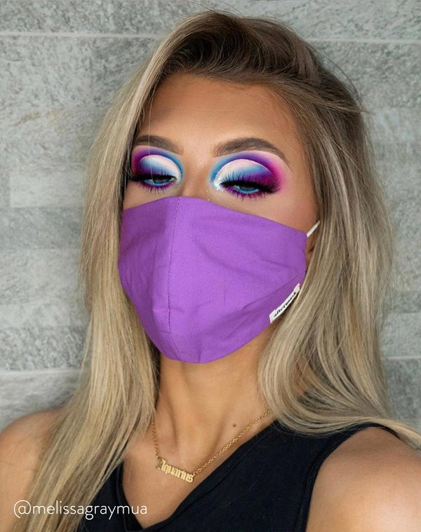 The Purple Face Mask