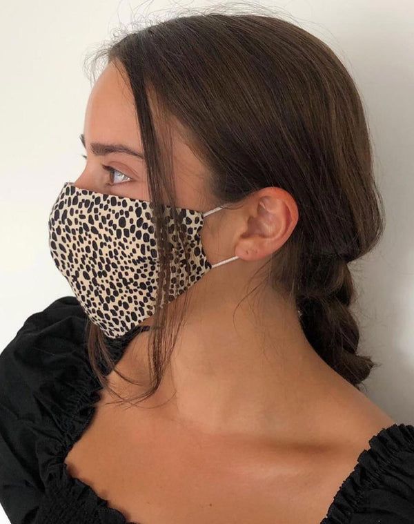 The Leopard Print Face Mask