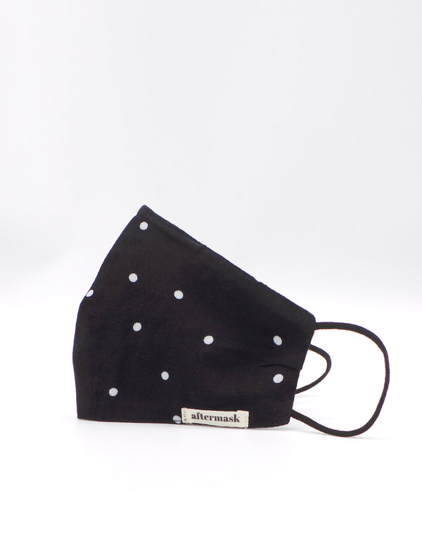 The New Polka Dot Mask with Nose Wire