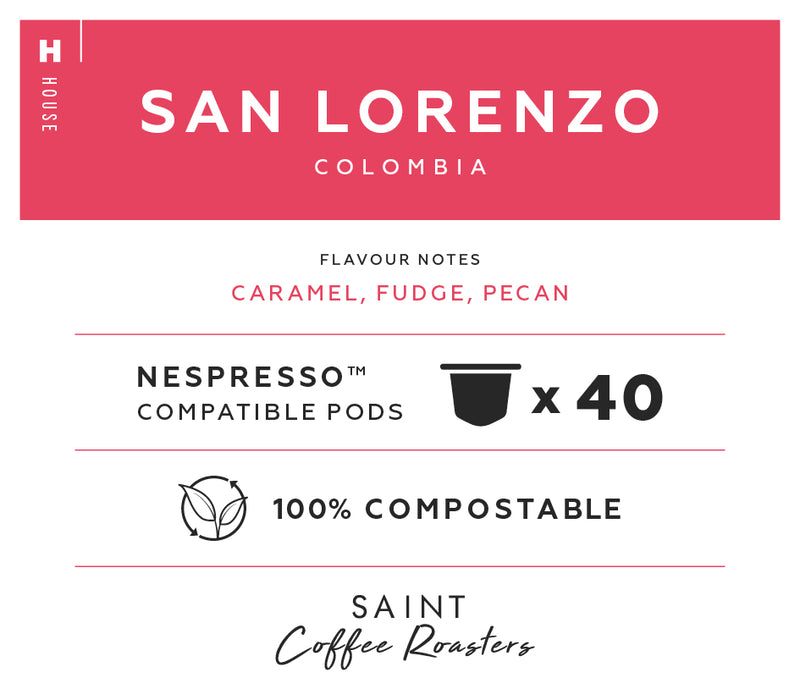 Nespresso® Compatible Pods, Colombia