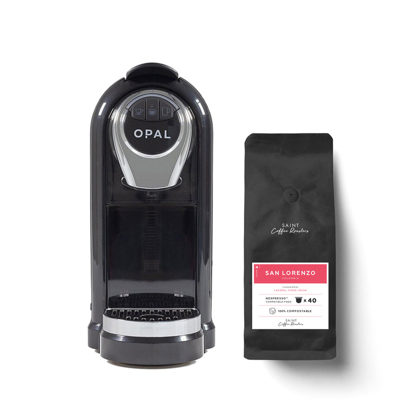 Opal One Capsule Machine + 40 coffee capsules