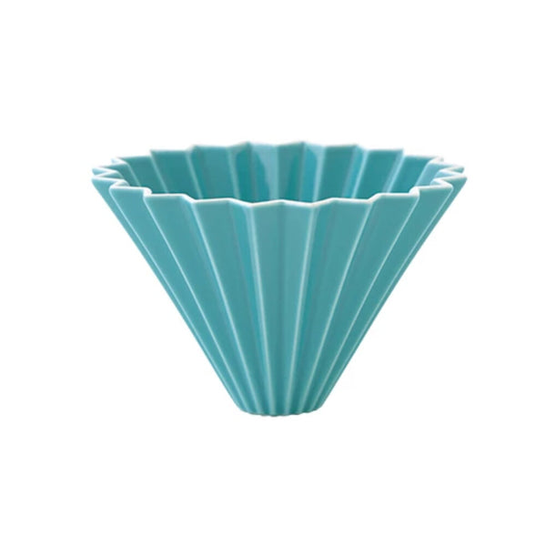 Origami Dripper in turquoise