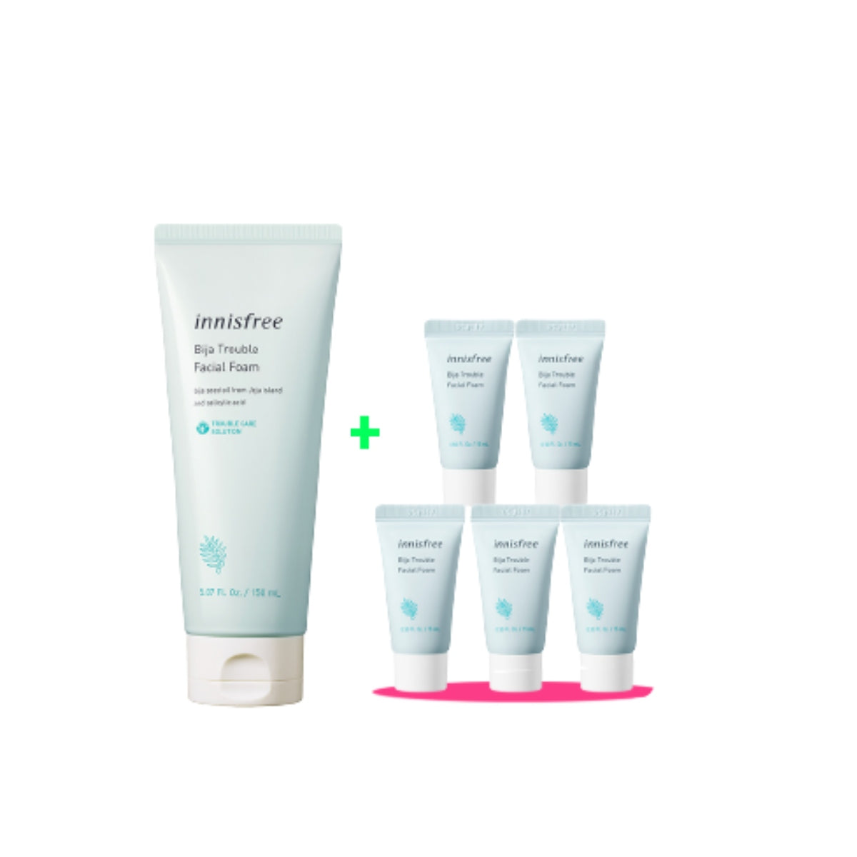 [Online Exclusive] Bija Trouble Facial Foam Value Pack (BUY 150ml FREE 75ML)