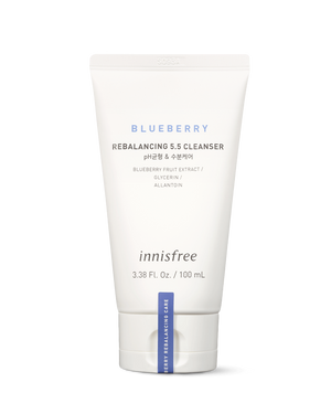 Blueberry Rebalancing 5.5 Cleanser 100ml - innisfree Malaysia Official Shop