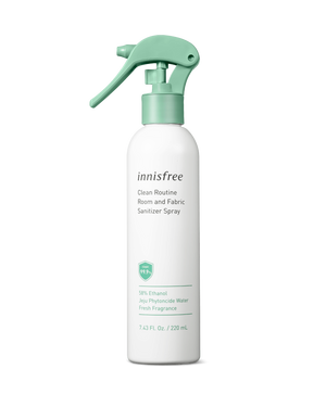 Clean Routine Room and Fabric Sanitizer Spray 220 ml - innisfree Malaysia Official Shop