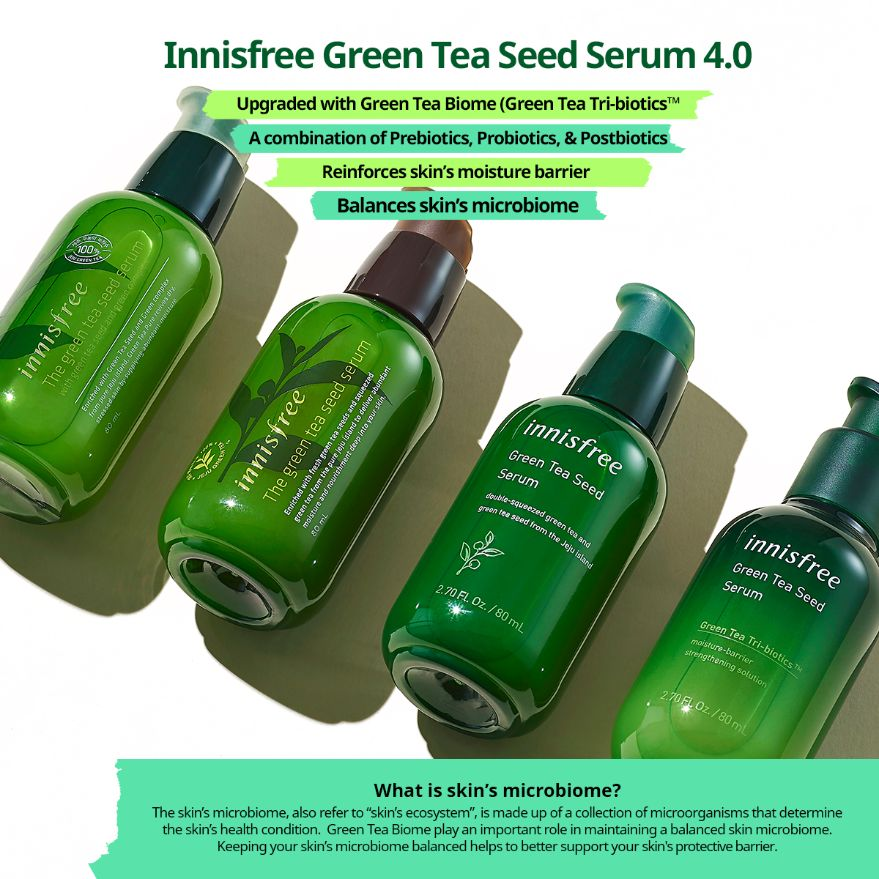 New Green Tea Seed Serum Special Set