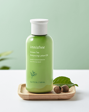 Green Tea Balancing Lotion EX 160ml - innisfree Malaysia Official Shop