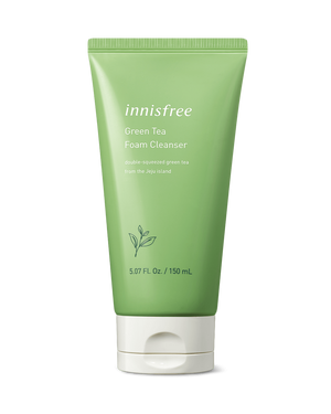 Green Tea Foam Cleanser 150ml - innisfree Malaysia Official Shop