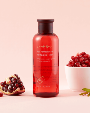 Jeju Pomegranate Revitalizing Toner 200ml - innisfree Malaysia Official Shop