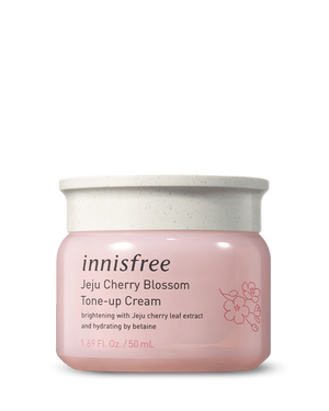 Jeju Cherry Blossom Tone Up Cream 50ml - innisfree Malaysia Official Shop