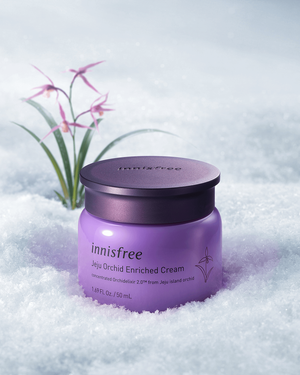 Jeju Orchid Enriched Cream 50ml - innisfree Malaysia Official Shop