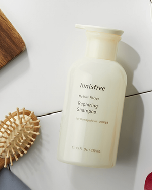 My Hair Recipe Repairing Shampoo [For Damaged Hair] 330ml - innisfree Malaysia Official Shop
