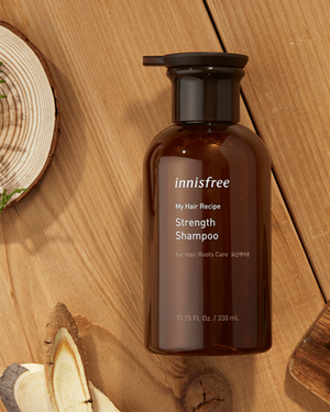 My Hair Recipe Strength Shampoo [For Hair Roots Care] 330ml - innisfree Malaysia Official Shop