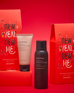 New Year Volcanic Deep Cleansing Set - innisfree Malaysia Official Shop