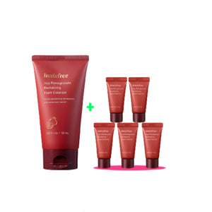 [Online Exclusive] Jeju Pomegranate Revitalizing Foam Cleanser Value Pack (BUY 150ml FREE 75ml)