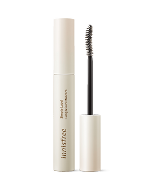 Simple Label Long & Curl Mascara 7.5g - innisfree Malaysia Official Shop