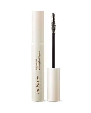 Simple Label Volume & Curl Mascara 7.5g - innisfree Malaysia Official Shop