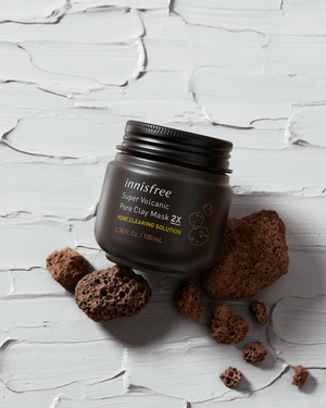 Super Volcanic Pore Clay Mask 2X - innisfree Malaysia Official Shop