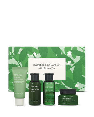 Green Tea Regimen Skincare Set - innisfree Malaysia Official Shop
