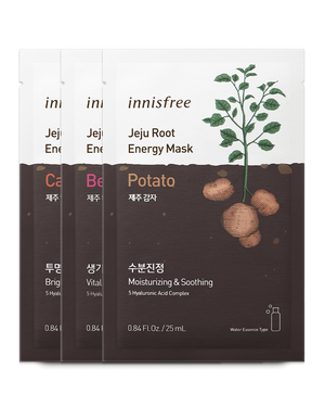 Jeju Root Energy Mask 25ml - innisfree Malaysia Official Shop