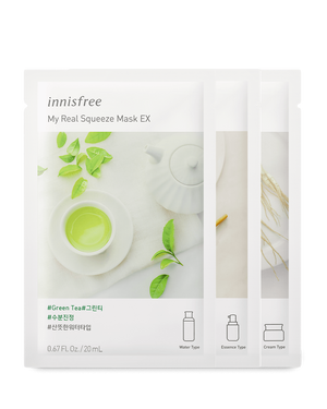 My Real Squeeze Mask EX 20ml - innisfree Malaysia Official Shop