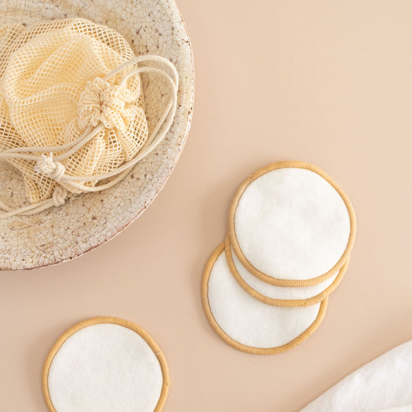 Reusable Cotton & Bamboo Skincare Pads (Pack of 10)