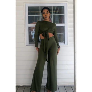 Jaded Flare Pant Set