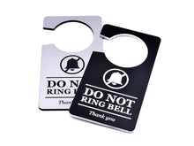 Load image into Gallery viewer, Do Not Ring Bell - DND Door Hanger