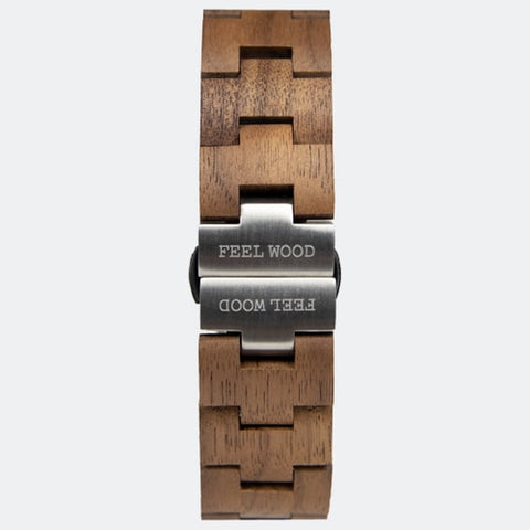 Wooden watch strap automatic Wood Infinity