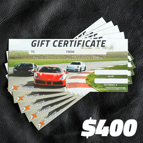 Email Gift Certificate $400