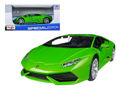 Lamborghini Huracán - 1:24 Diecast Model Car (Green)