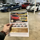 Supercar Xperience Gift Vouchers