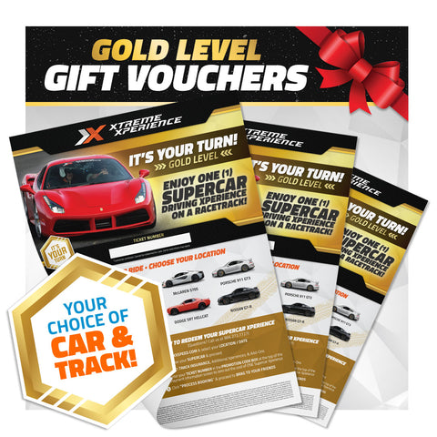 Xperience Gift Vouchers (Gold Level)