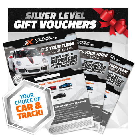 Xperience Gift Vouchers (Silver Level)