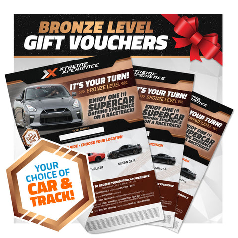 Xperience Gift Vouchers (Bronze Level)