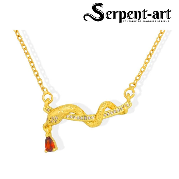 Collection Colliers Serpent luxe