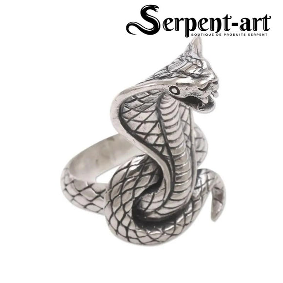 Bague Serpent cobra vintage
