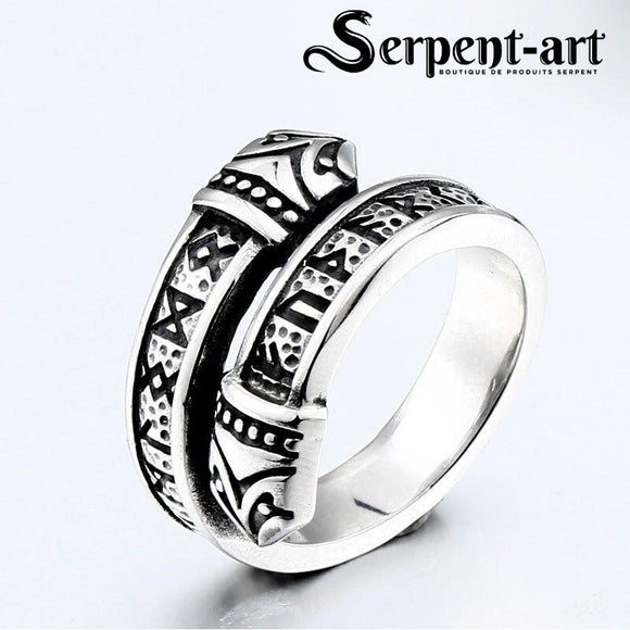 Bague serpent viking