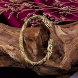 Bracelet serpent viking bronze