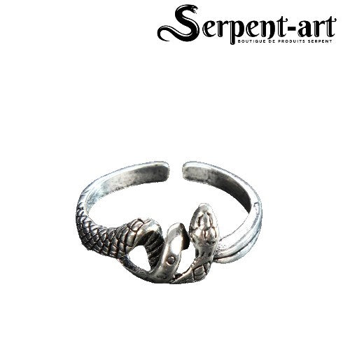 Bague Serpent mythologie