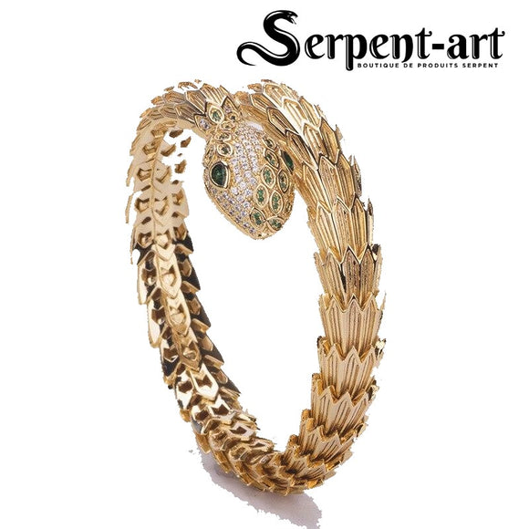 Bracelet Serpent or