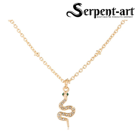 Collier serpent simple