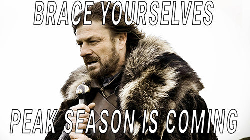 Peak Season Is Coming