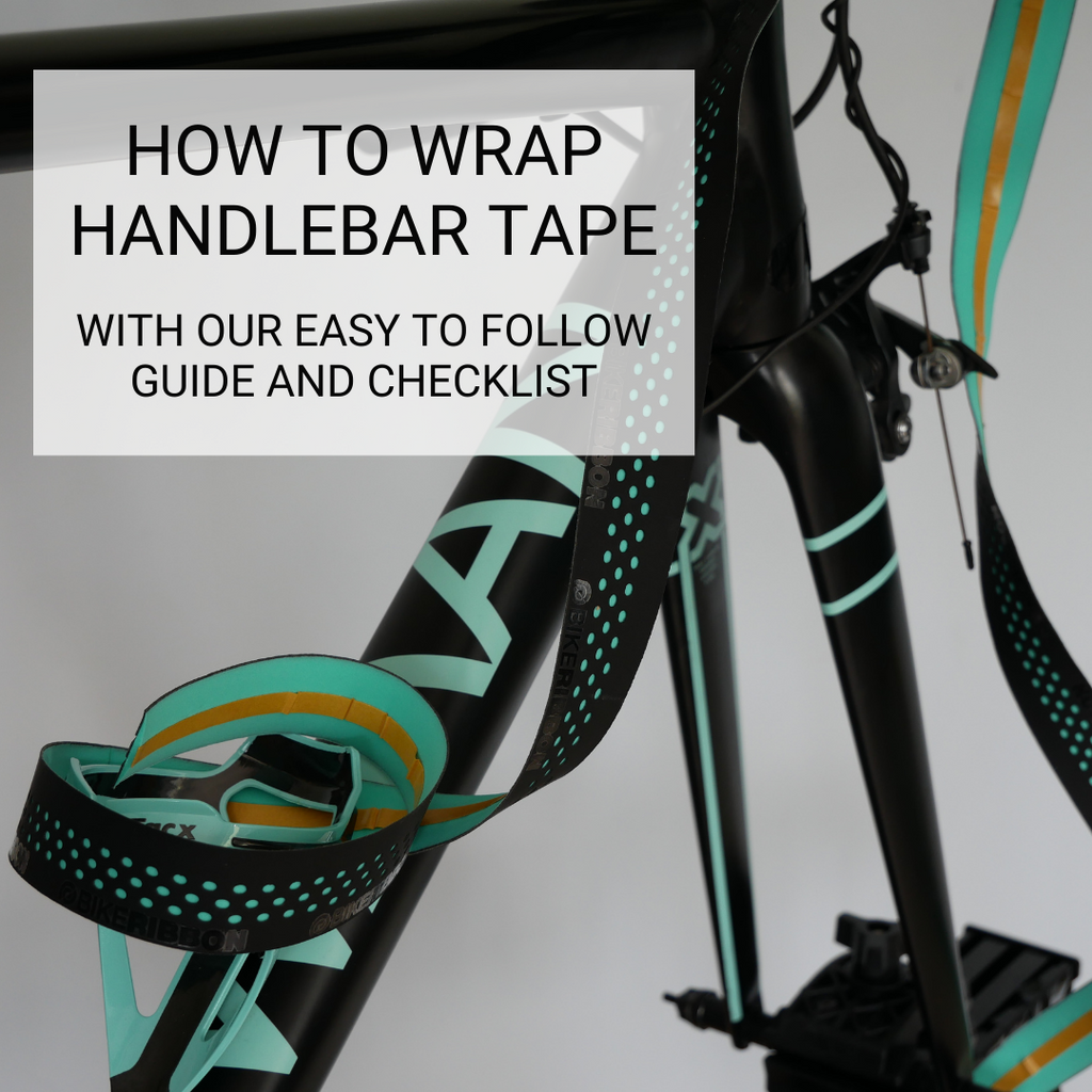 How to wrap your bicycle handlebar tape