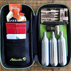 Compact, weatherproof case from Altuvita. Fits in your cycling jacket pocket.
