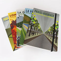 Cycling themed notebooks by The Handmade Cyclist