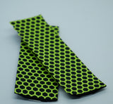 Yellow Tape With Hexagon Surface